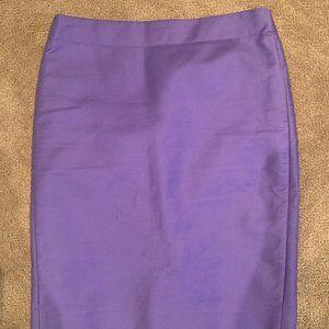 J. Crew pencil skirt #2 purple size 4